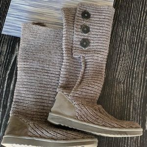 Ugg Sweater Boots - Gray